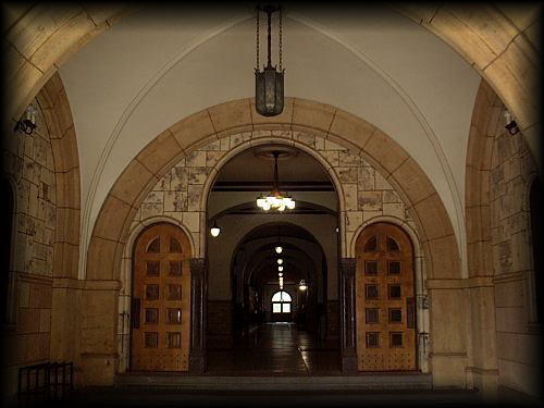 前へ 一橋大学のキャンパス風景写真